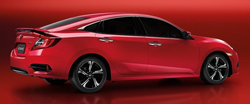Honda Civic Red makes its debut at Thai Motor Expo Image #745378