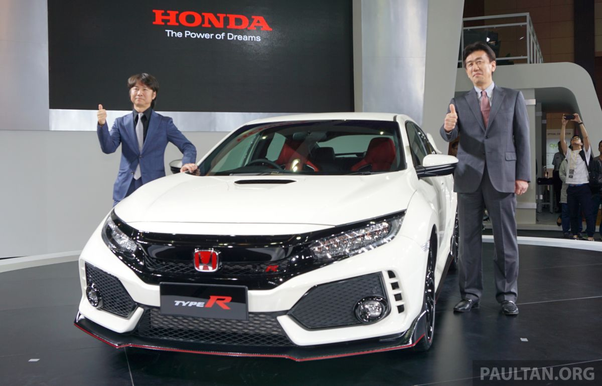 FK8 Honda Civic Type R - 60 units booked before launch, target to have 40  units delivered in 2017