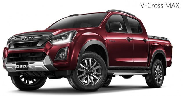 isuzu d max facelift arrives in thailand three cab styles two turbodiesel engines priced. Black Bedroom Furniture Sets. Home Design Ideas