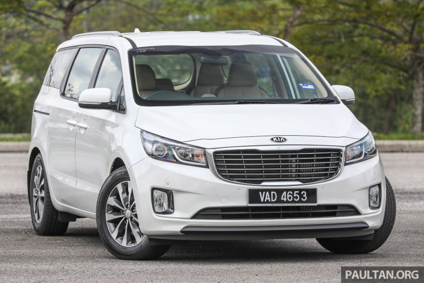 FIRST DRIVE: Kia Grand Carnival 2.2D video review Image #732762