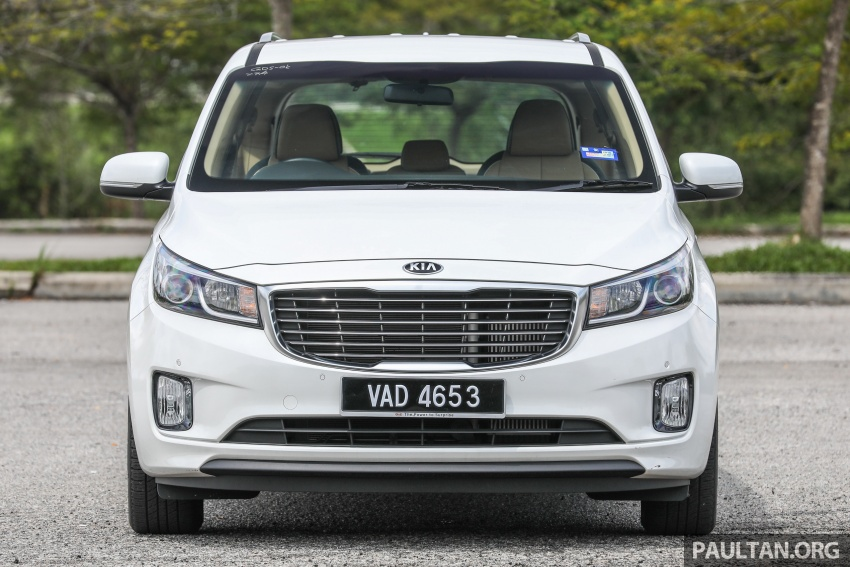 FIRST DRIVE: Kia Grand Carnival 2.2D video review Image #732773