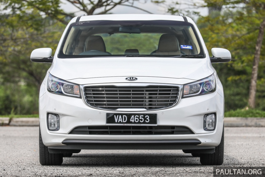 FIRST DRIVE: Kia Grand Carnival 2.2D video review Image #732774