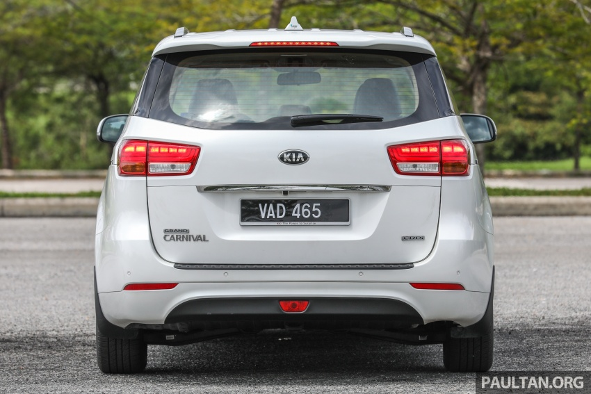 FIRST DRIVE: Kia Grand Carnival 2.2D video review Image #732775