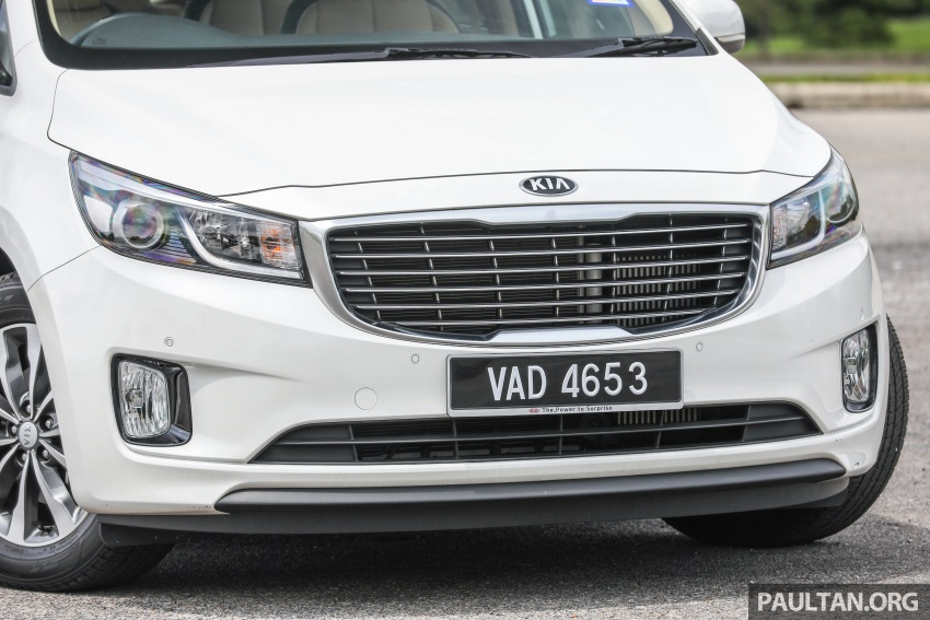 FIRST DRIVE: Kia Grand Carnival 2.2D video review Image #732778