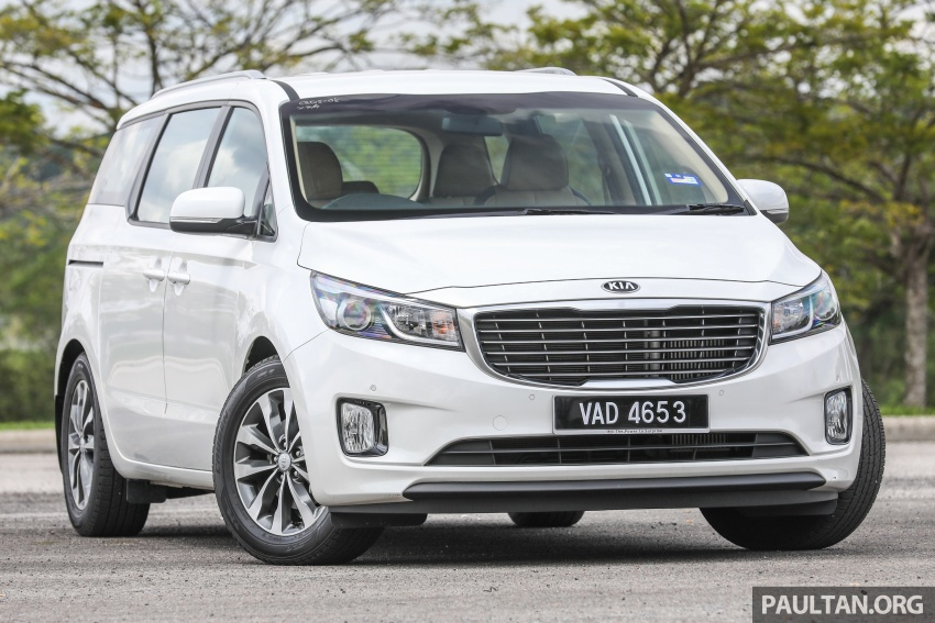 FIRST DRIVE: Kia Grand Carnival 2.2D video review Image #732763