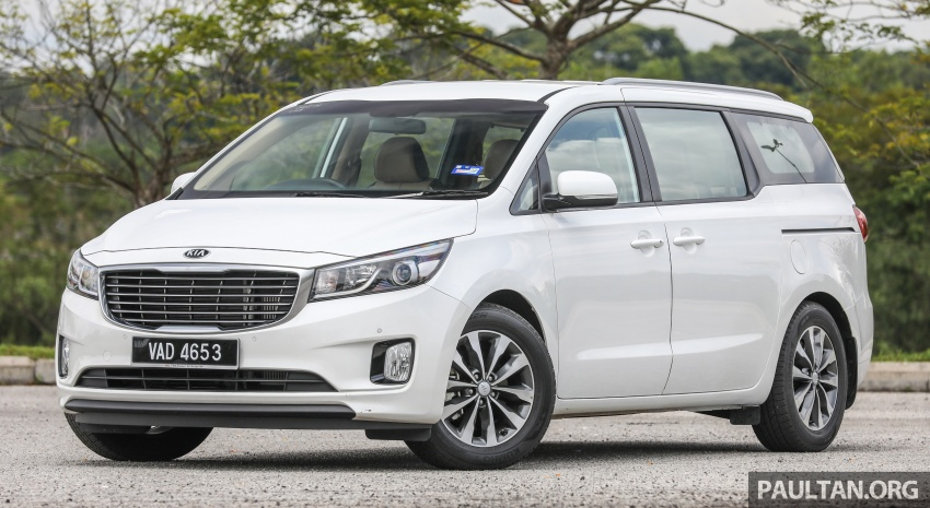 FIRST DRIVE: Kia Grand Carnival 2.2D video review Image #732765