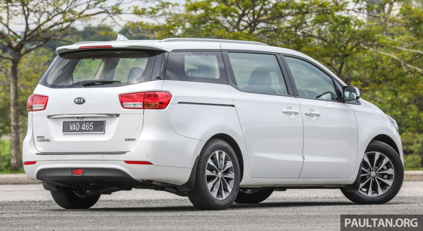 FIRST DRIVE: Kia Grand Carnival 2.2D video review Image #732767