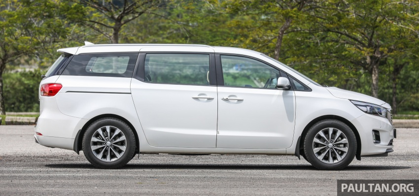 FIRST DRIVE: Kia Grand Carnival 2.2D video review Image #732770