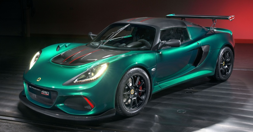 Lotus Exige Cup 430 revealed with 430 hp, 440 Nm Image #736325