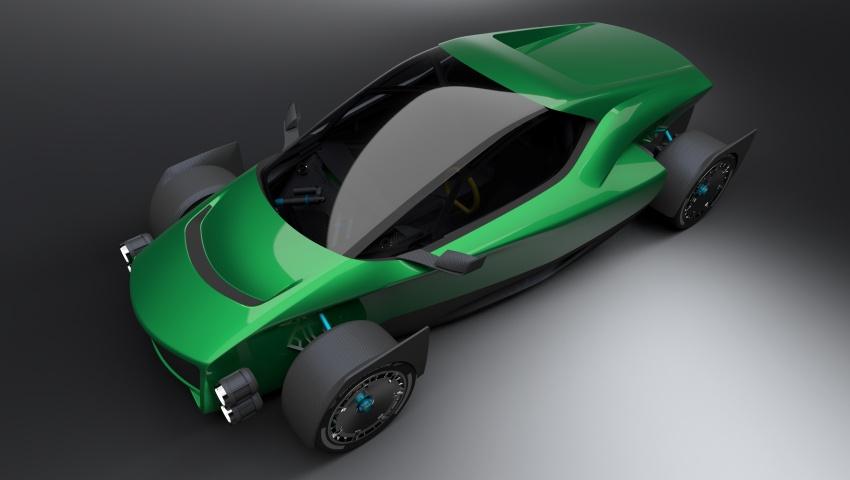 Xing Mobility Miss R – 1,341 hp Tesla Roadster killer? Image #743026