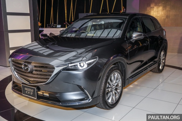 We Ve Already Revealed Quite A Bit Of The Malaysian Spec Mazda Cx 9 Just Few Days Ago And Now Model Is Finally Making Its Official Launch Debut