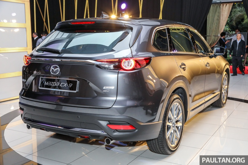 Mazda CX-9 – Malaysia-spec model officially launched Image #738521