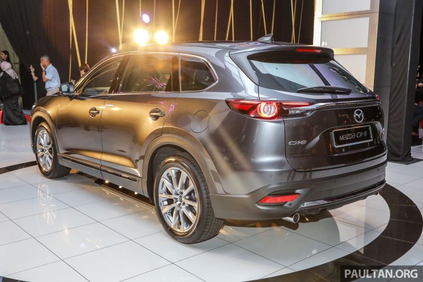 Mazda CX-9 – Malaysia-spec model officially launched Image #738523