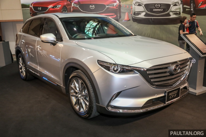 Mazda CX-9 – Malaysian-spec model previewed Image #735568