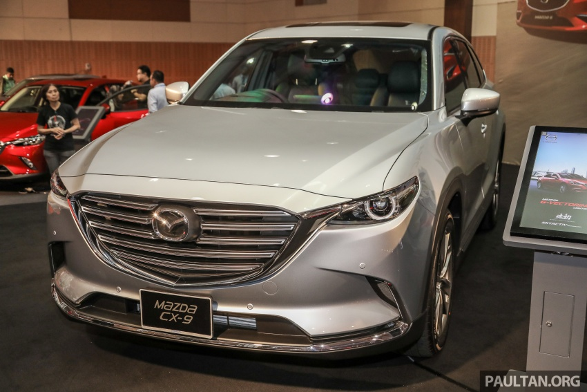 Mazda CX-9 – Malaysian-spec model previewed Image #735570