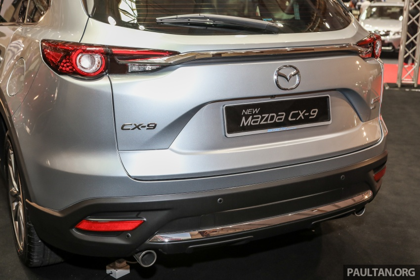 Mazda CX-9 – Malaysian-spec model previewed Image #735605