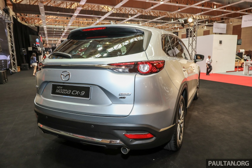 Mazda CX-9 – Malaysian-spec model previewed Image #735572