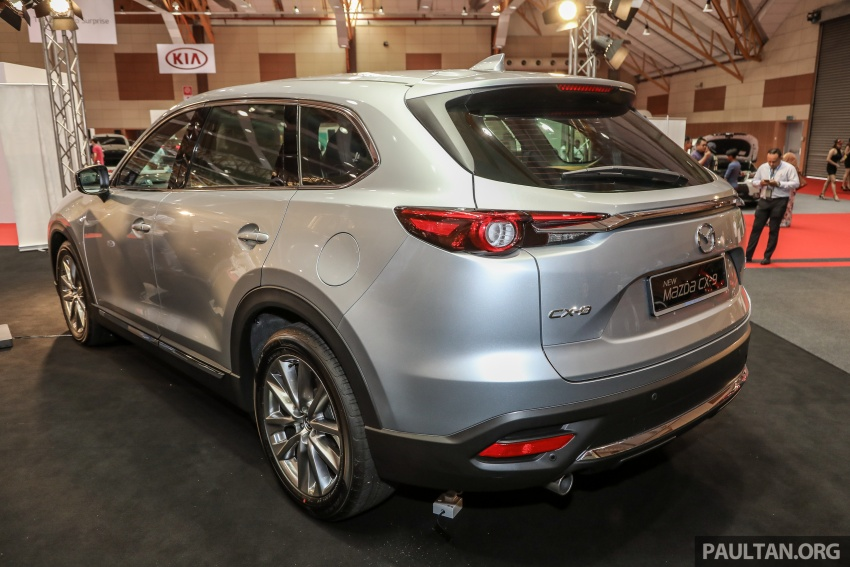 Mazda CX-9 – Malaysian-spec model previewed Image #735574