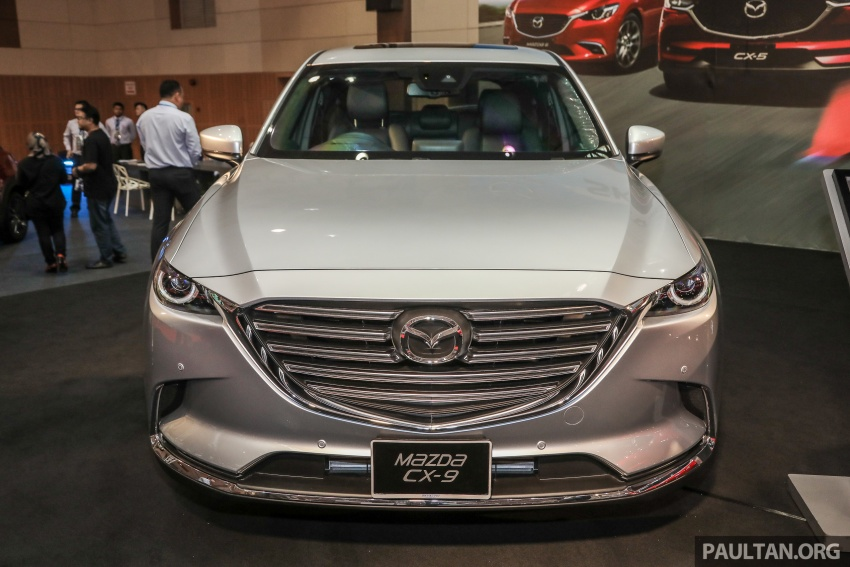 Mazda CX-9 – Malaysian-spec model previewed Image #735578