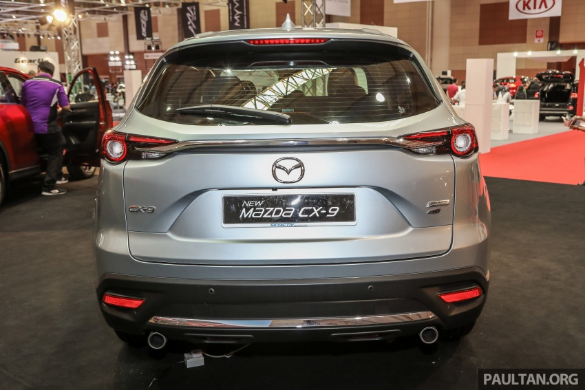 Mazda CX-9 – Malaysian-spec model previewed Image #735580