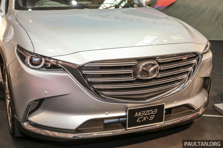 Mazda CX-9 – Malaysian-spec model previewed Image #735582