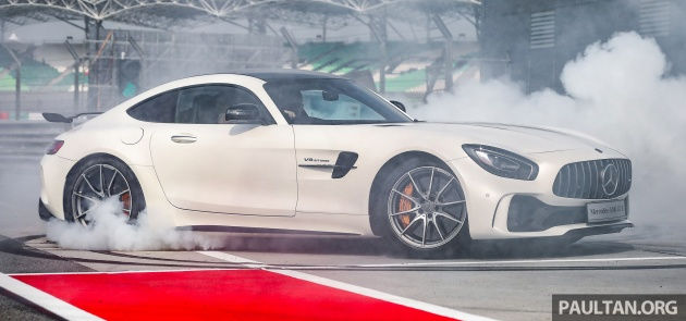 2017 C190 Mercedes Amg Gt R Officially Launched In Malaysia Priced From Rm1 7 Million