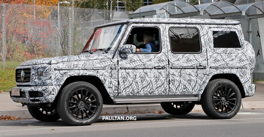SPIED: Next Mercedes-Benz G-Class in its AMG form Image #736367