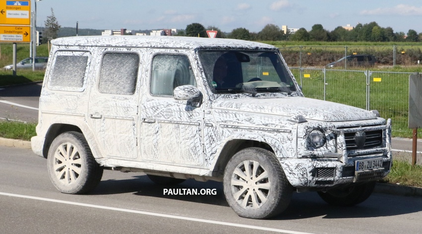 SPIED: Next Mercedes-Benz G-Class in its AMG form Image #736370