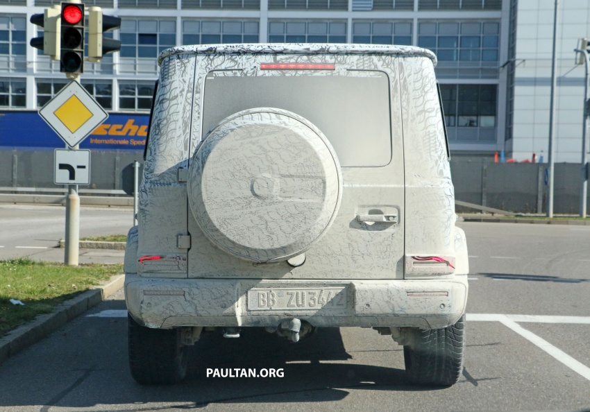 SPIED: Next Mercedes-Benz G-Class in its AMG form Image #736376