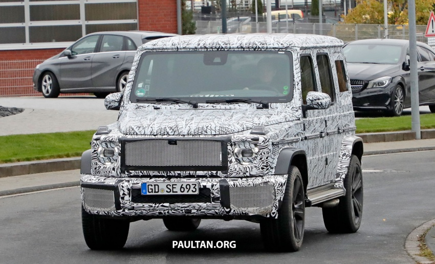 SPIED: Next Mercedes-Benz G-Class in its AMG form Image #736377