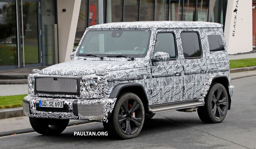 SPIED: Next Mercedes-Benz G-Class in its AMG form Image #736379