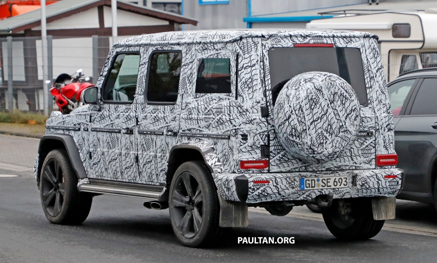 SPIED: Next Mercedes-Benz G-Class in its AMG form Image #736390
