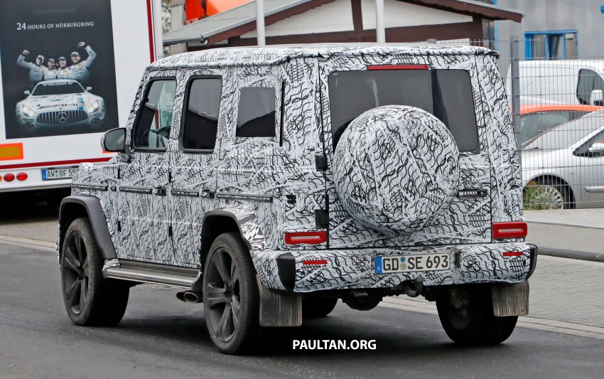 SPIED: Next Mercedes-Benz G-Class in its AMG form Image #736391