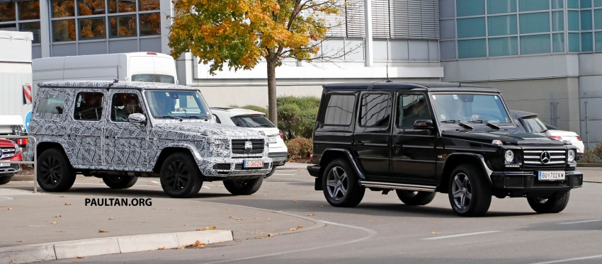 SPIED: Next Mercedes-Benz G-Class in its AMG form Image #736393