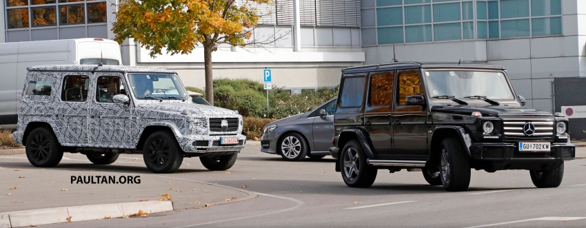 SPIED: Next Mercedes-Benz G-Class in its AMG form Image #736394