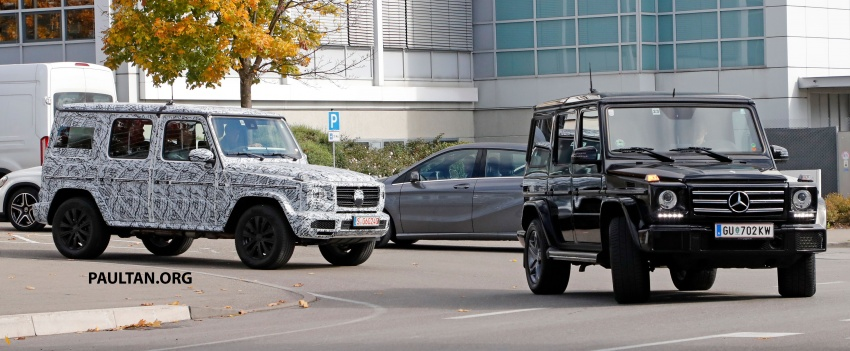 SPIED: Next Mercedes-Benz G-Class in its AMG form Image #736396