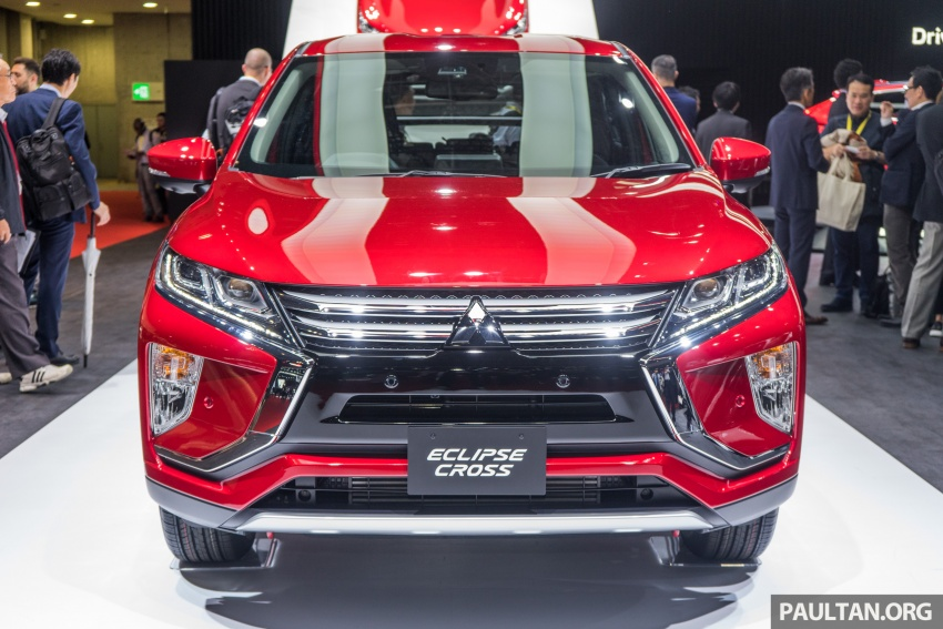 Tokyo 2017: Mitsubishi Eclipse Cross reuses iconic sports car name on SUV, gets new 163 PS 1.5T engine Image #732496