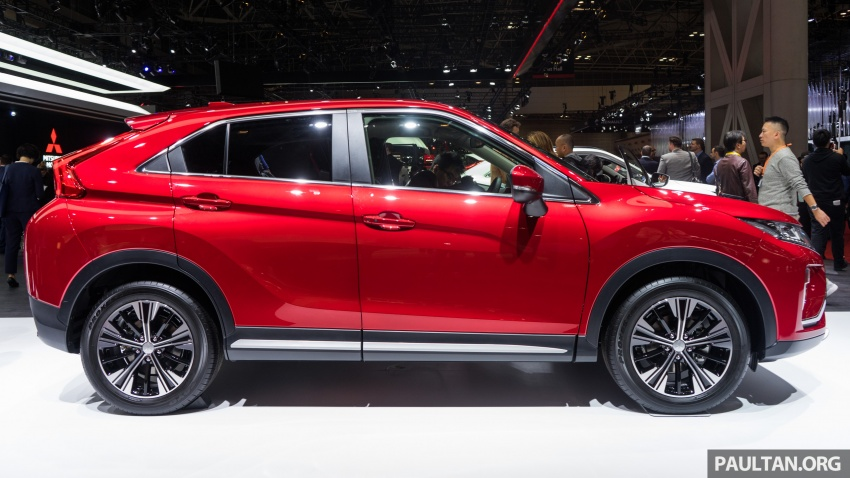 Tokyo 2017: Mitsubishi Eclipse Cross reuses iconic sports car name on SUV, gets new 163 PS 1.5T engine Image #732498