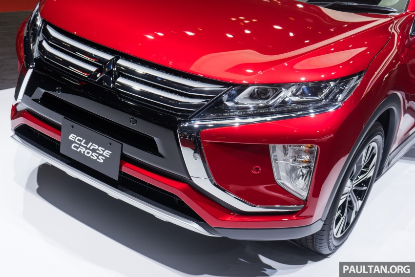 Tokyo 2017: Mitsubishi Eclipse Cross reuses iconic sports car name on SUV, gets new 163 PS 1.5T engine Image #732499