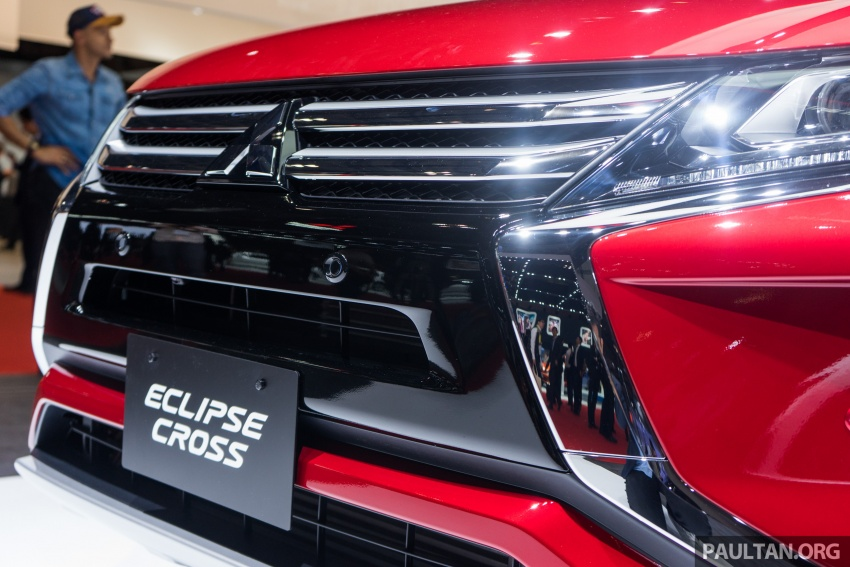 Tokyo 2017: Mitsubishi Eclipse Cross reuses iconic sports car name on SUV, gets new 163 PS 1.5T engine Image #732502
