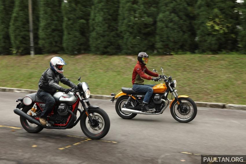TUNGGANG UJI: Moto Guzzi V9 Roamer ada karekter unik, beri kepuasan dengan tunggangan gaya santai Image #742291