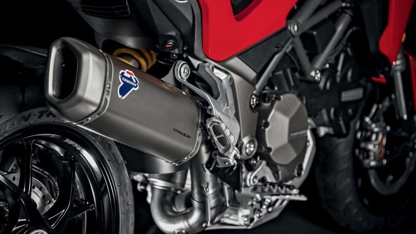 Ducati Multistrada 1260 – enjin berkapasiti lebih besar, empat variasi ditawarkan termasuk edisi Pikes Peak Image #734059
