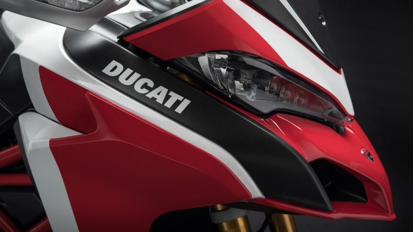 Ducati Multistrada 1260 – enjin berkapasiti lebih besar, empat variasi ditawarkan termasuk edisi Pikes Peak Image #734084