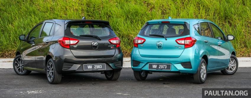 GALLERY: Perodua Myvi Advance 1.5 – 2018 vs 2015 Image #741712