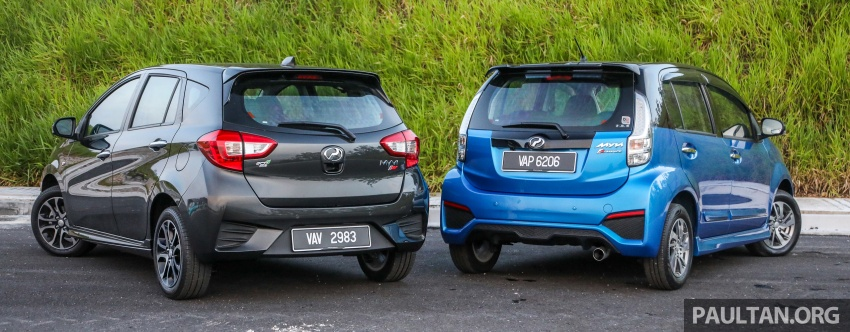GALLERY: Perodua Myvi Advance 1.5 – 2018 vs 2015 Image #741713