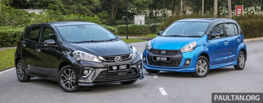 GALLERY: Perodua Myvi Advance 1.5 – 2018 vs 2015 Image #741714