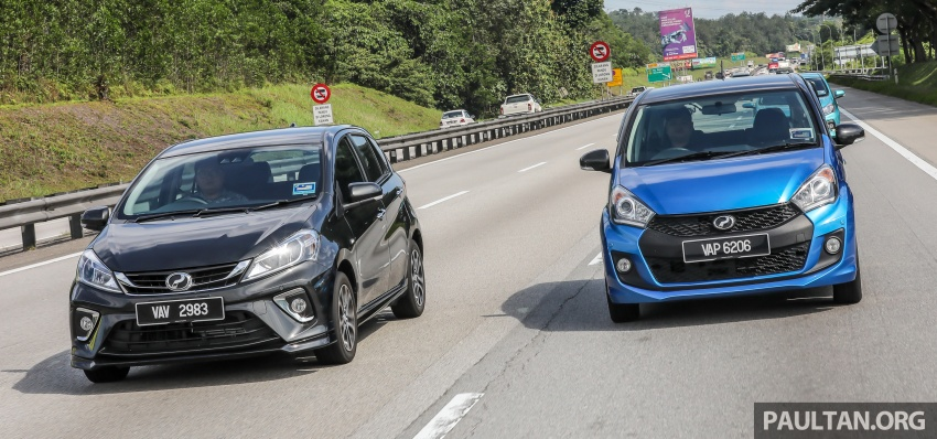 GALLERY: Perodua Myvi Advance 1.5 – 2018 vs 2015 Image #741715