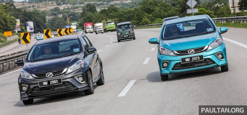 GALLERY: Perodua Myvi Advance 1.5 – 2018 vs 2015 Image #741716