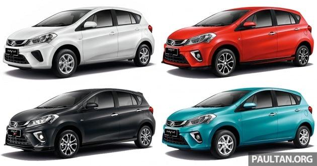 2018 Perodua Myvi – full spec-by-spec comparison