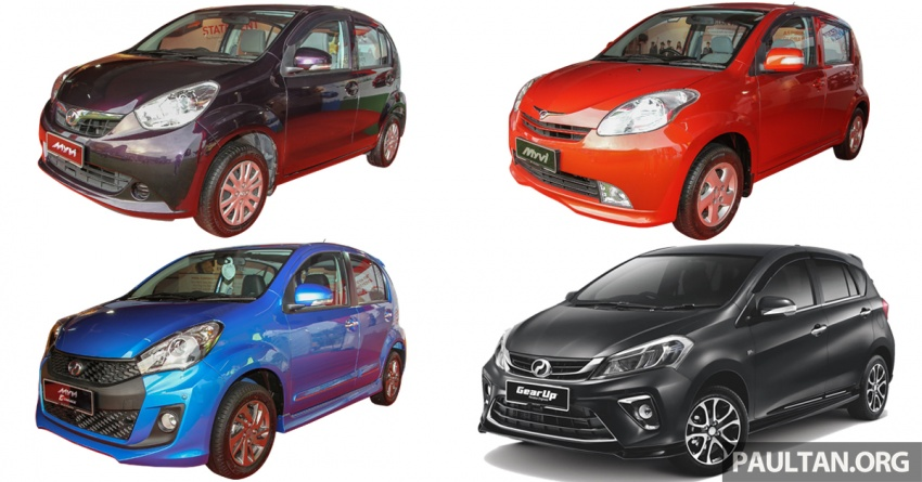 Perodua Myvi – through the years, from 2005 to 2017 Image #739219